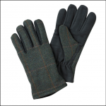 Hoggs of Fife Ladies Sherborne Tweed-Moleskin Gloves 1