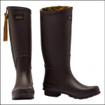 Joules Collette Dark Saddle Equestrian Wellies