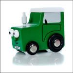 Mini Tractor Ted Wooden Toy 1
