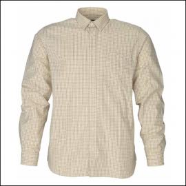 Seeland Warwick Shirt Soil Brown Check 1