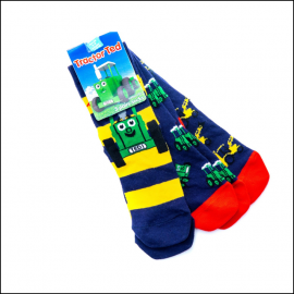 Tractor Ted Digger Socks (3pk) 1