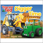 Tractor Ted Digger Time Story Book 1