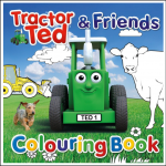 Tractor Ted & Friends Colouring Book 1