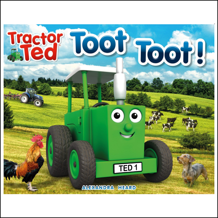 Tractor Ted Toot Toot Story Book 1