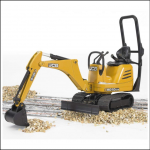 Bruder JCB 8010 CTS Mini Excavator 1.16 Scale 1
