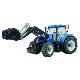 Bruder New Holland T7.315 Tractor with Front Loader 1
