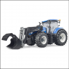 Bruder New Holland T7.315 Tractor with Front Loader 2