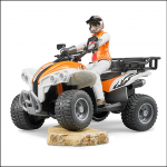 Bruder Quad Bike with Driver 1.16 Scale 1