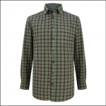 Hoggs of Fife Braemar Green Check Shirt 1