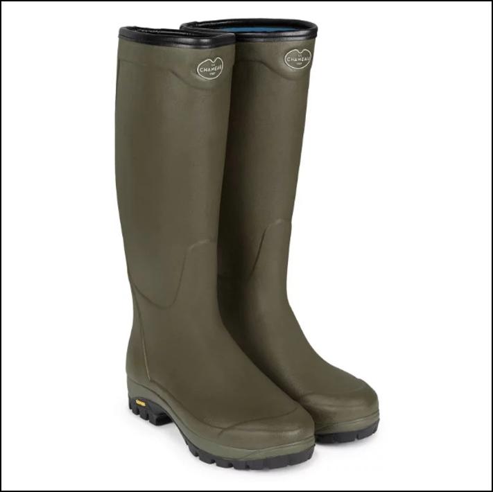 Le Chameau Unisex Country Vibram Neoprene Lined Boot 2