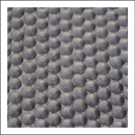 10mm Bubbletop Rubber Stable Mat 6ft x 4ft 1