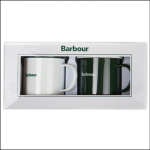 Barbour Enamel Mug Gift Set