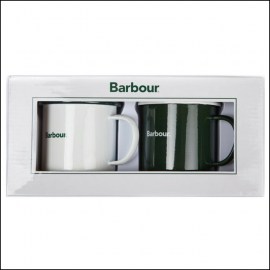 Barbour Enamel Mug Gift Set 1