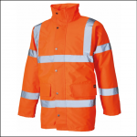 Dickies High Visibility Motorway Jacket Orange