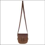 Dubarry Ballymena Leather Saddle Bag Walnut 1