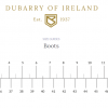 Dubarry Country Boots - Size Guide