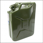Gopart 20L Metal Army Green Jerry Can