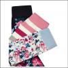 Joules Brilliant Bamboo Ladies Socks (3pk) Blue Multi Floral 2