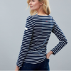 Joules Harbour Long Sleeve Jersey Top Navy-Cream Stripe 2