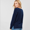 Joules Luciana Boxy Knit Jumper French Navy 2