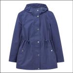 Joules Shoreside Waterproof A-Line Coat Blue 1