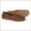 Dubarry Belize Ladies Slip On Deck Shoe Cafe 2