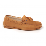 Dubarry Jamaica Ladies Loafer Tan 1