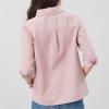 Joules Ashbrook Pop Over eck Shirt Light Pink 2