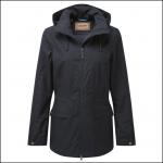Schoffel Ladies Hazelwood Waterproof Coat Navy Blue 1