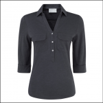 Schoffel Ladies Marina Jersey Shirt Navy 1