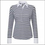 Schoffel Ladies Salcombe Shirt Harbour Stripe Navy 1