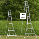 Workware GMF480 16ft Aluminium Tripod Ladder