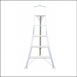 Workware GWF240 8ft Platform Tripod Ladder 1