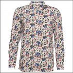 Barbour Everly Shirt Off White Strawberry Print 1