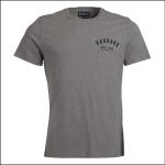 Barbour Men's Preppy T-Shirt Grey Marl 1
