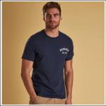 Barbour Men's Preppy T-Shirt New Navy 1