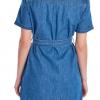 Barbour Seaboard Denim Dress Mid Wash 2