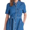Barbour Seaboard Denim Dress Mid Wash 3