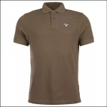 Barbour Sports Polo Dark Olive 1