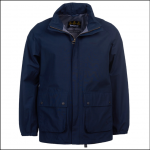 Barbour Stanley Waterproof Jacket Navy 1
