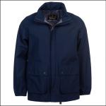 Barbour Stanley Waterproof Jacket Navy 1