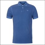 Barbour Washed Sports Polo Shirt Marine Blue 1