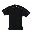 STIHL Genuine V Neck T Shirt Black