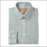 Schoffel Harlyn Sage-White Micro Check Shirt 1