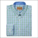 Schoffel Holkham Green Check Shirt 1
