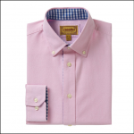Schoffel Soft Oxford Tailored Shirt Pale Pink 1