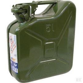 5L Green Metal Fuel Can
