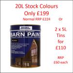 Bedec Acrylic Exterior Barn Paint -JUNE-JULY 2021 OFFER