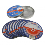 Faithfull Multi-Cut Thin Discs 115 x 1.0 x 22mm Pk of 10