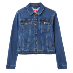 Joules Elsa Denim Jacket Mid Blue 1